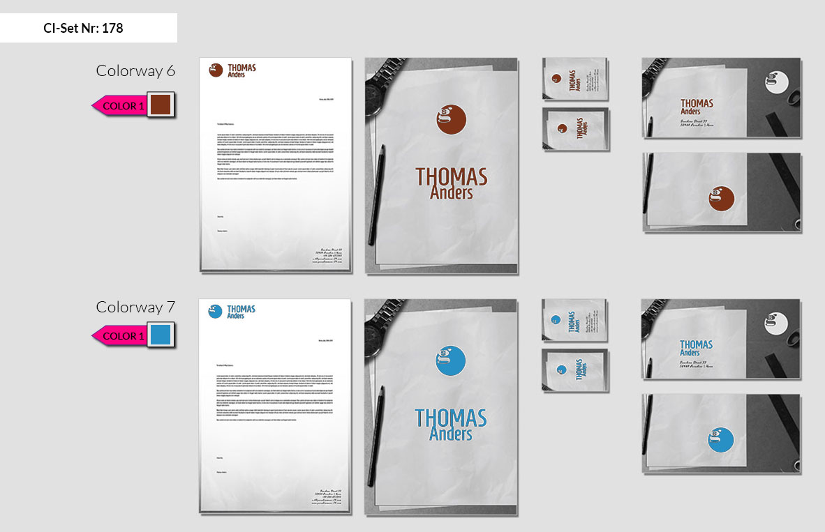 178 Stationery Corporate Design Geschaeftsausstattung Branding 5