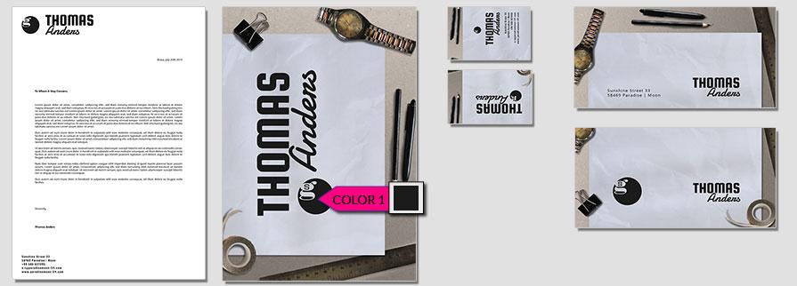 179 Stationery Corporate Design Geschaeftsausstattung Branding 1