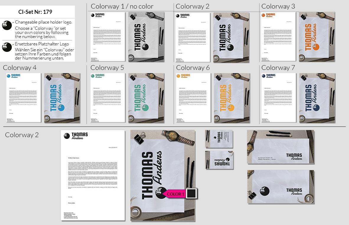 179 Stationery Corporate Design Geschaeftsausstattung Branding 2