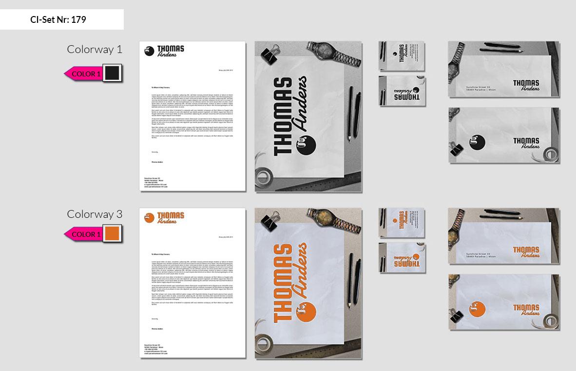 179 Stationery Corporate Design Geschaeftsausstattung Branding 3