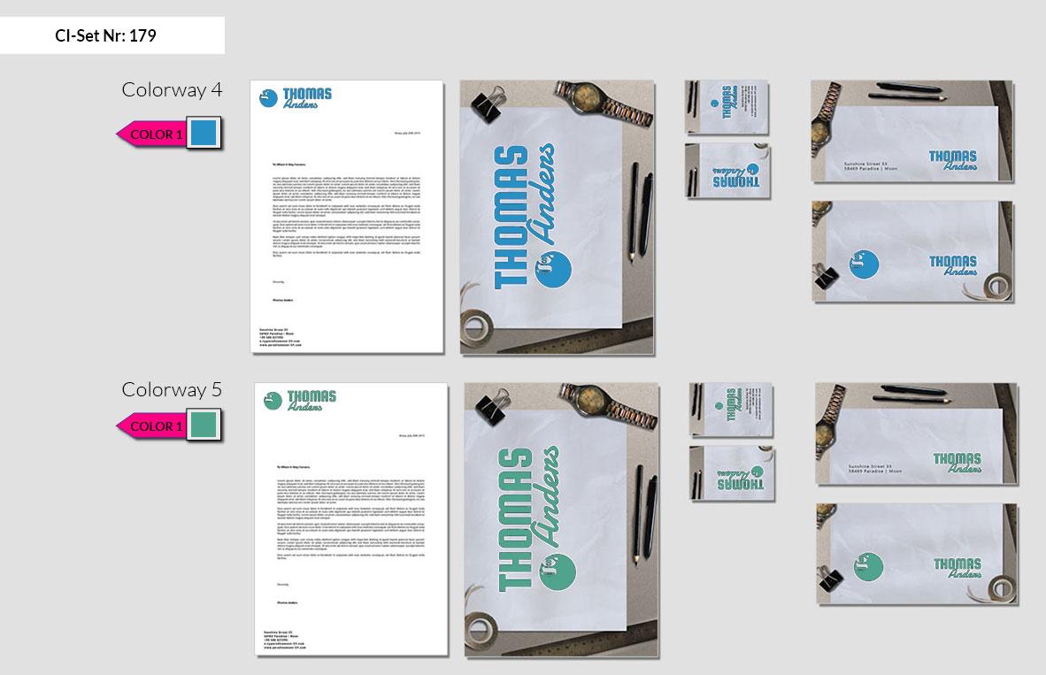 179 Stationery Corporate Design Geschaeftsausstattung Branding 4
