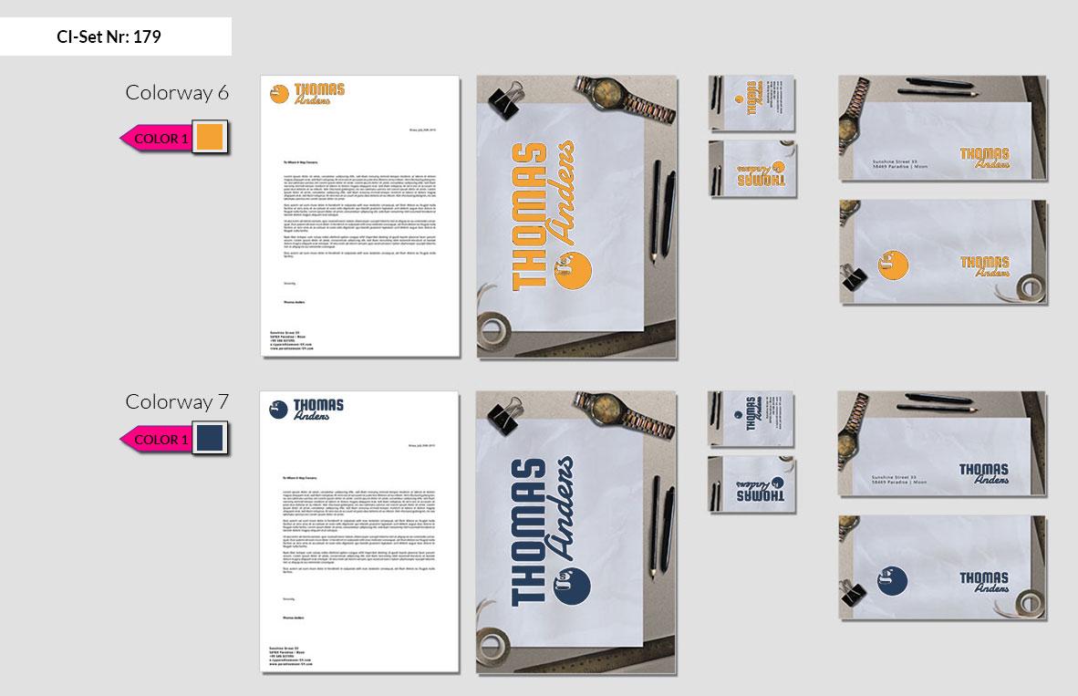 179 Stationery Corporate Design Geschaeftsausstattung Branding 5
