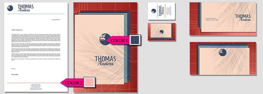 180 Stationery Corporate Design Geschaeftsausstattung Branding 1