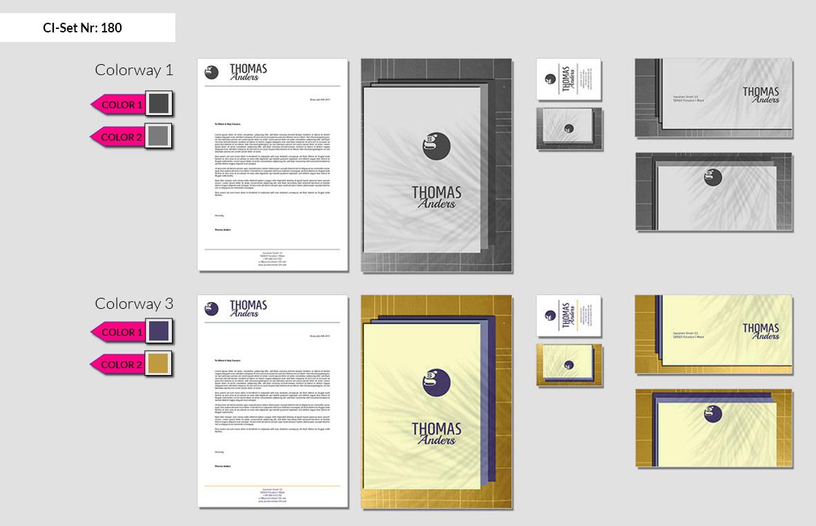 180 Stationery Corporate Design Geschaeftsausstattung Branding 3