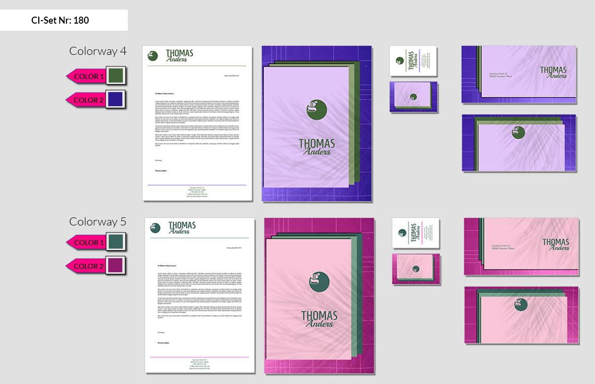 180 Stationery Corporate Design Geschaeftsausstattung Branding 4