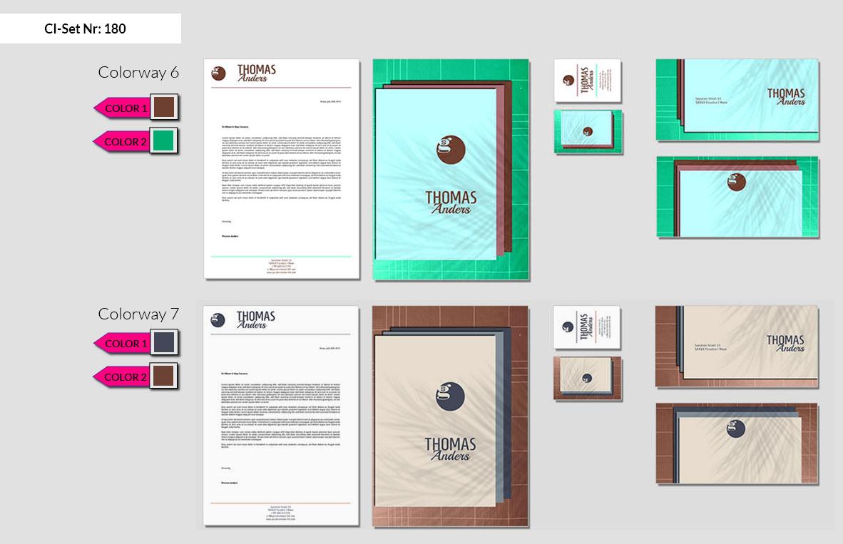 180 Stationery Corporate Design Geschaeftsausstattung Branding 5