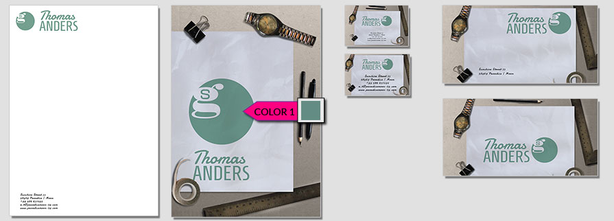 182 Stationery Corporate Design Geschaeftsausstattung Branding 1