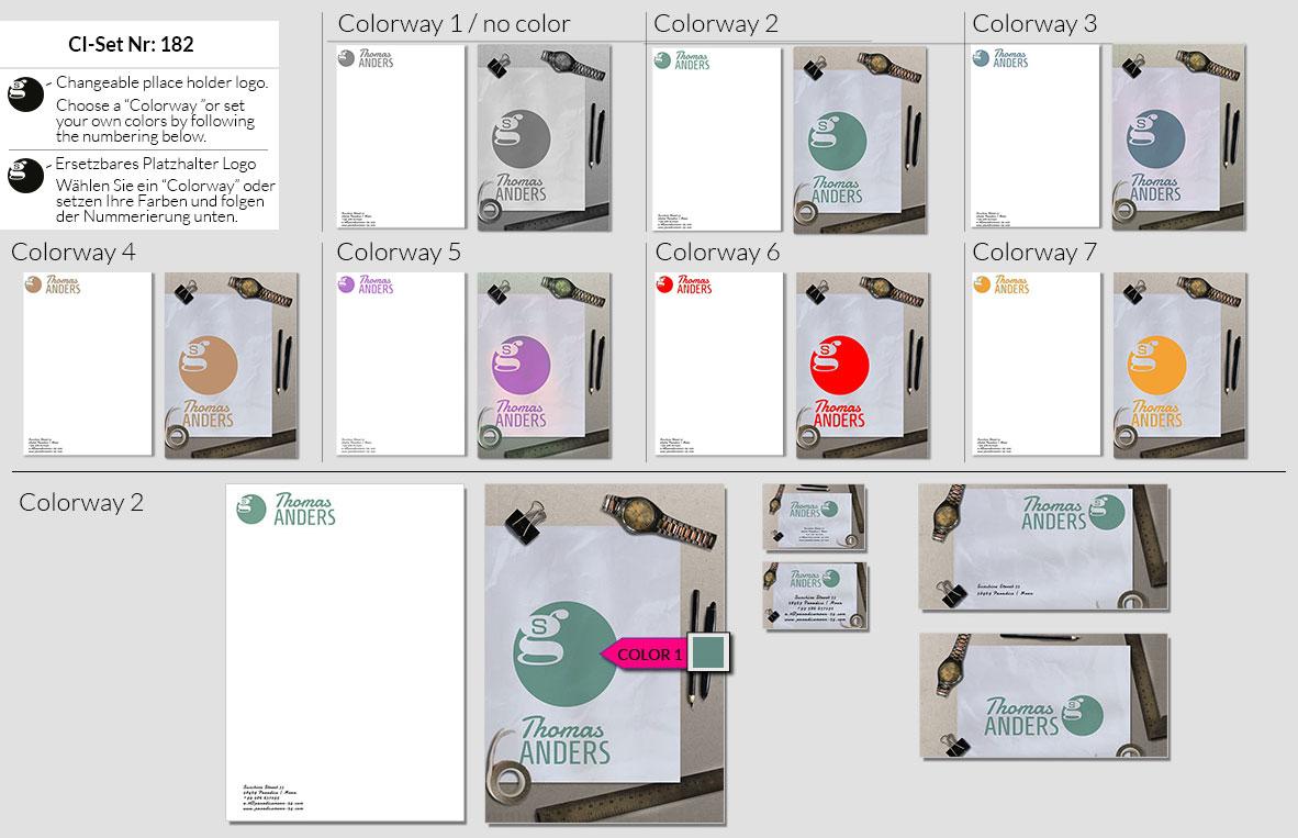 182 Stationery Corporate Design Geschaeftsausstattung Branding 2