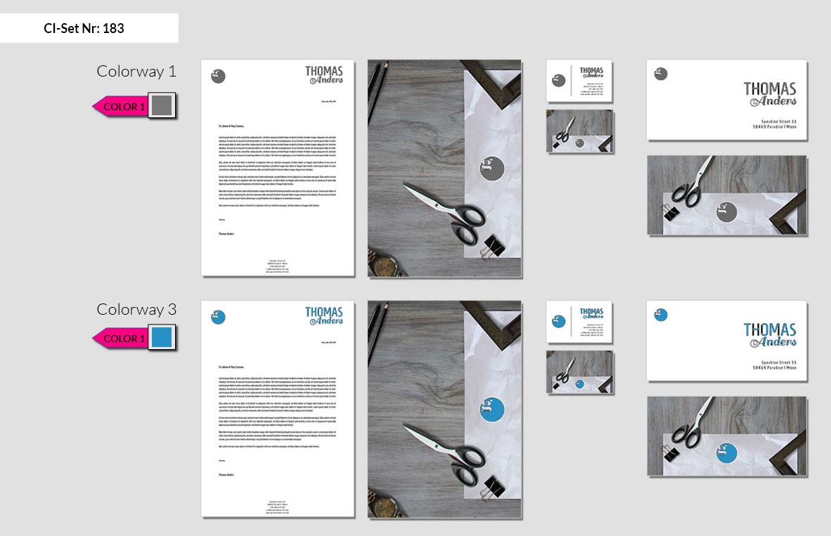 183 Stationery Corporate Design Geschaeftsausstattung Branding 3