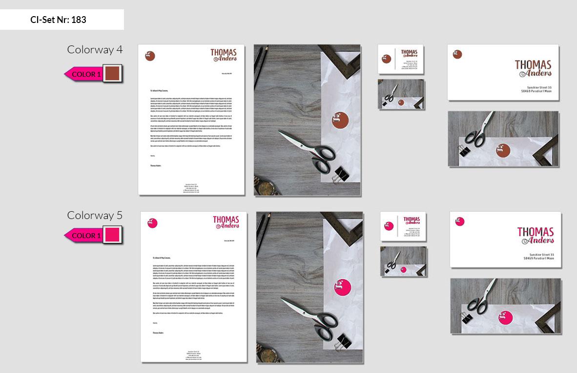 183 Stationery Corporate Design Geschaeftsausstattung Branding 4