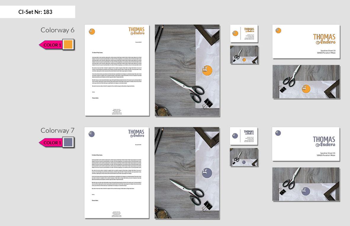183 Stationery Corporate Design Geschaeftsausstattung Branding 5
