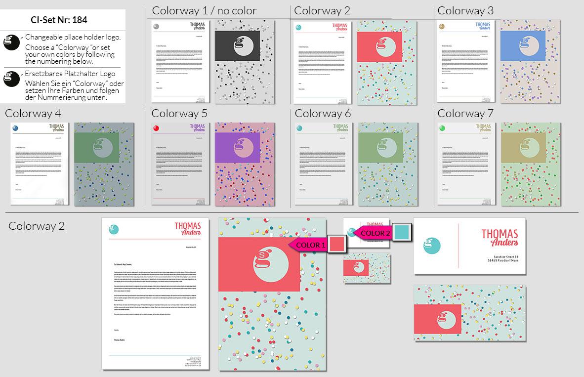 184 Stationery Corporate Design Geschaeftsausstattung Branding 3