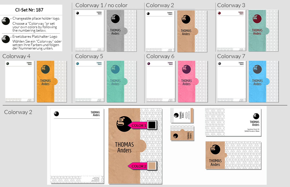 187 Stationery Corporate Design Geschaeftsausstattung Branding 3