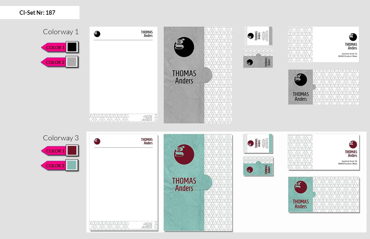 187 Stationery Corporate Design Geschaeftsausstattung Branding 4