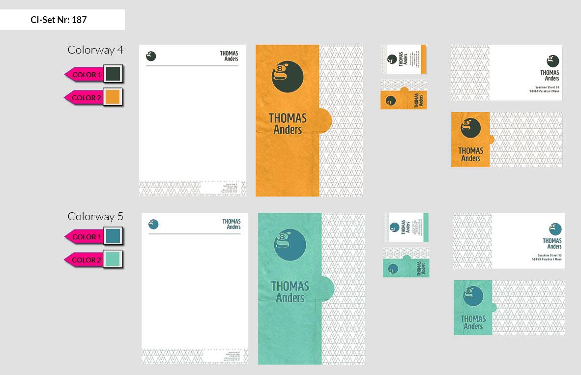 187 Stationery Corporate Design Geschaeftsausstattung Branding 5