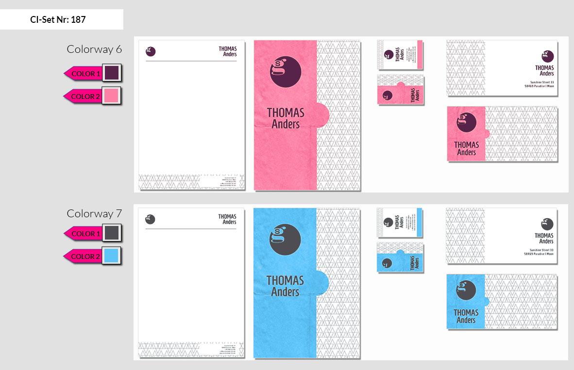 187 Stationery Corporate Design Geschaeftsausstattung Branding 6