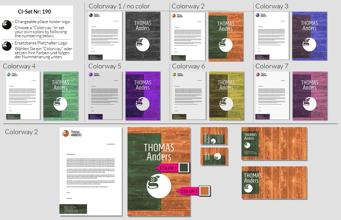 190 Stationery Corporate Design Geschaeftsausstattung Branding 2