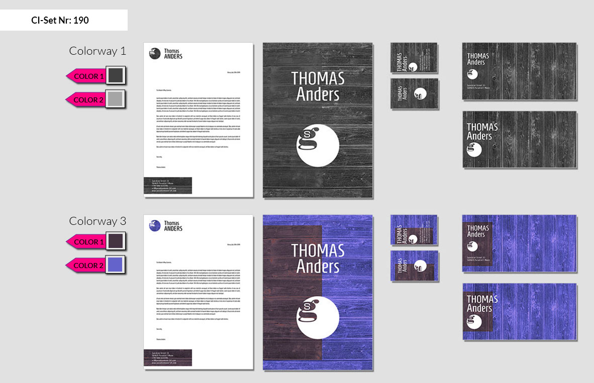 190 Stationery Corporate Design Geschaeftsausstattung Branding 3