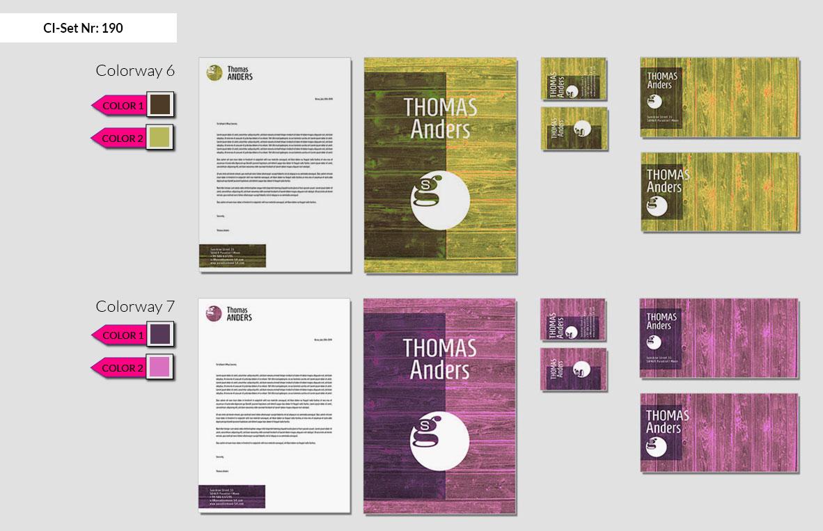 190 Stationery Corporate Design Geschaeftsausstattung Branding 5