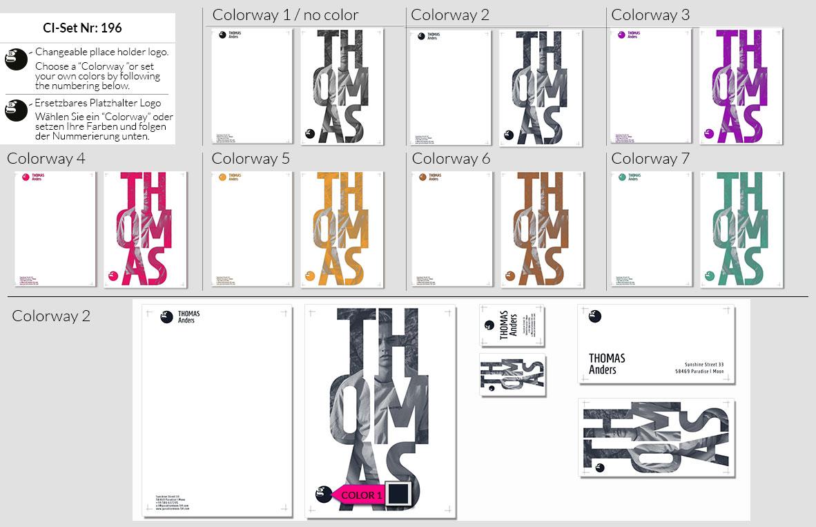 196 Stationery Corporate Design Geschaeftsausstattung Branding 3