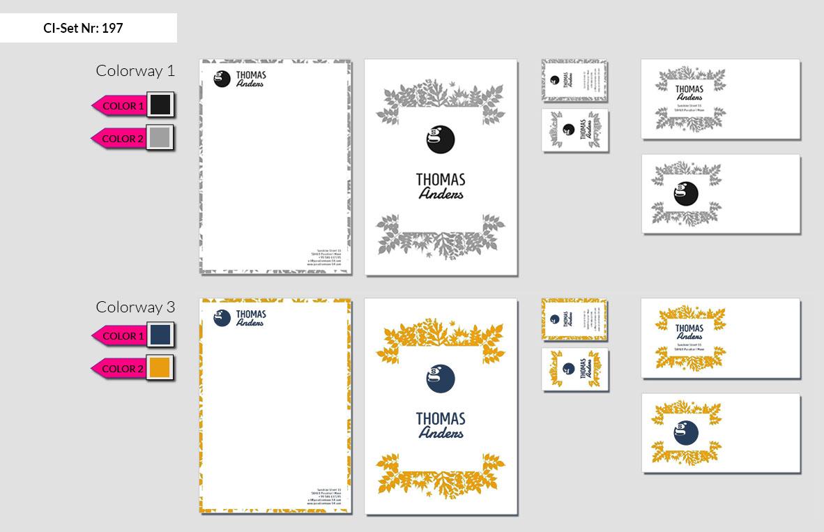 197 Stationery Corporate Design Geschaeftsausstattung Branding 4
