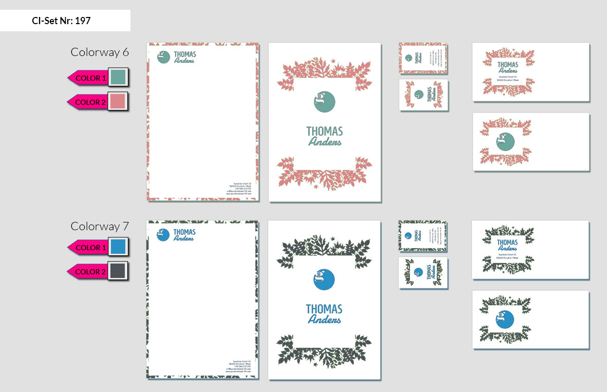 197 Stationery Corporate Design Geschaeftsausstattung Branding 6