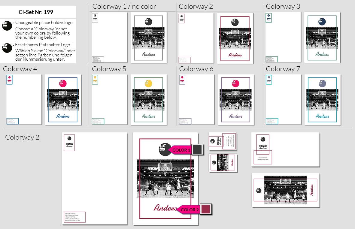199 Stationery Corporate Design Geschaeftsausstattung Branding 3