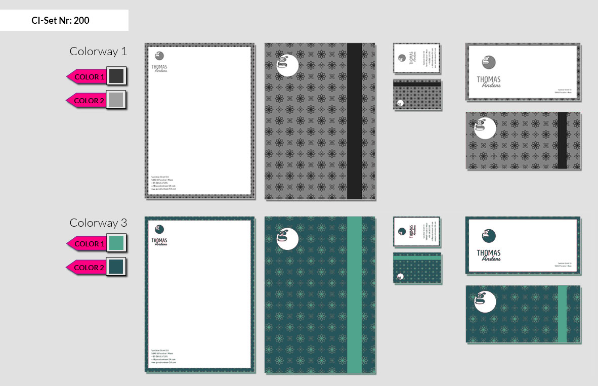 200 Stationery Corporate Design Geschaeftsausstattung Branding 4