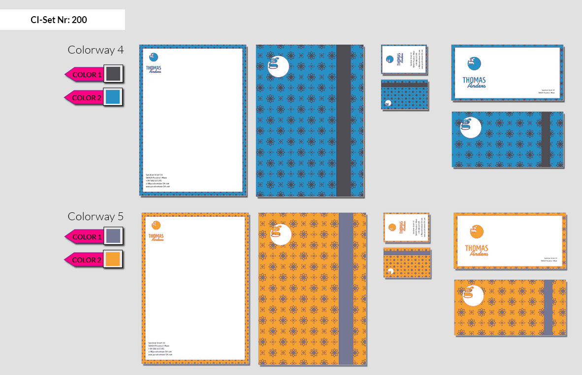 200 Stationery Corporate Design Geschaeftsausstattung Branding 5