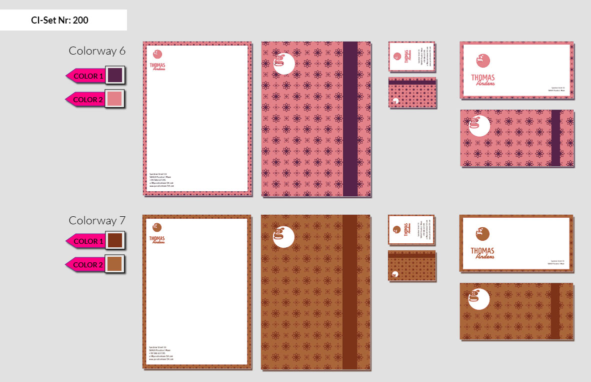 200 Stationery Corporate Design Geschaeftsausstattung Branding 6