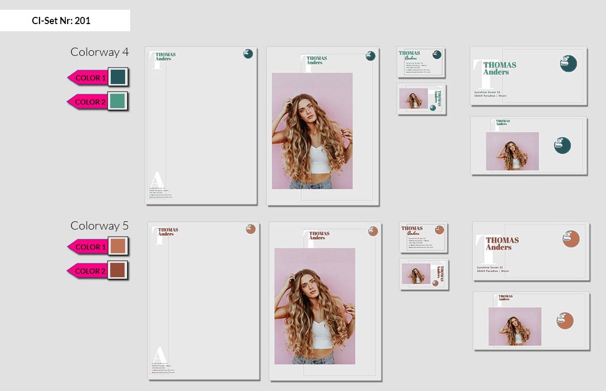 201 Stationery Corporate Design Geschaeftsausstattung Branding 5