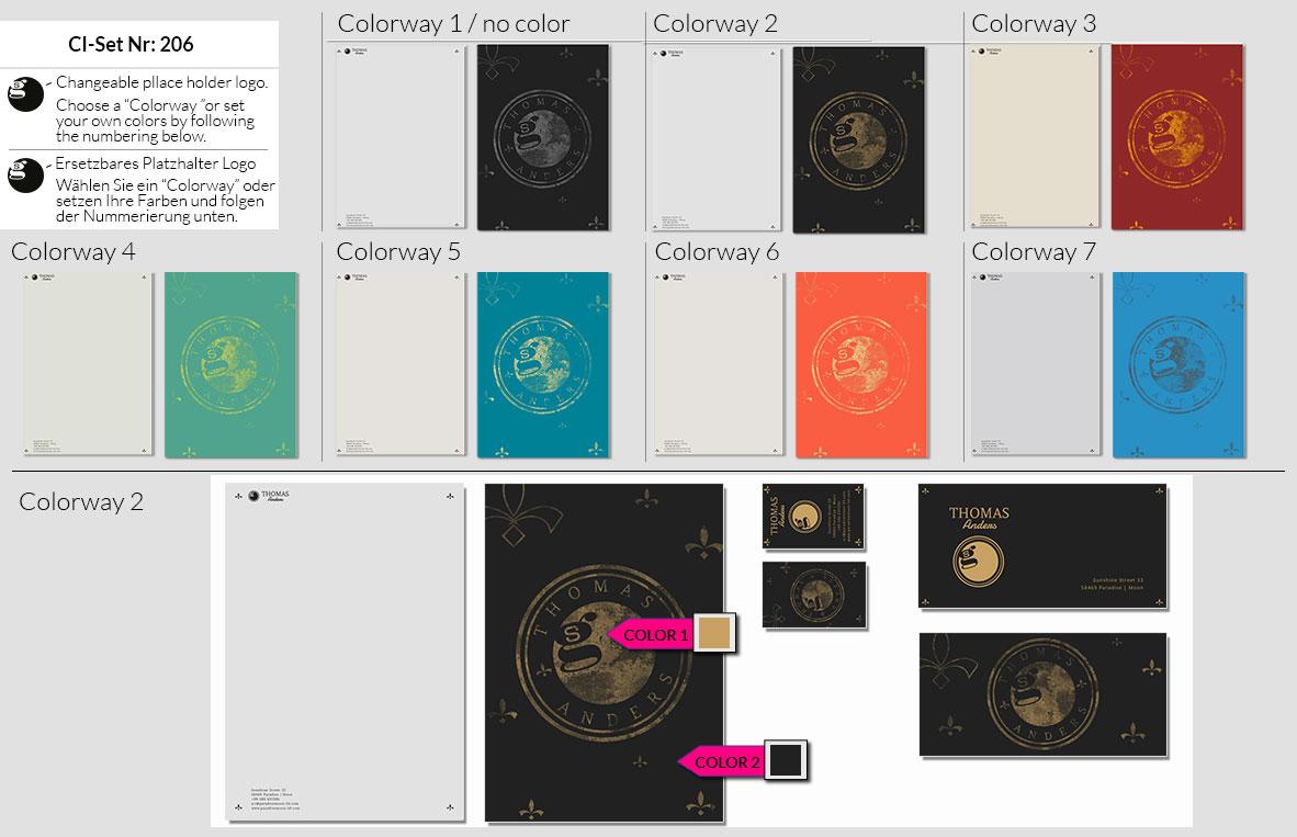 206 Stationery Corporate Design Geschaeftsausstattung Branding 3