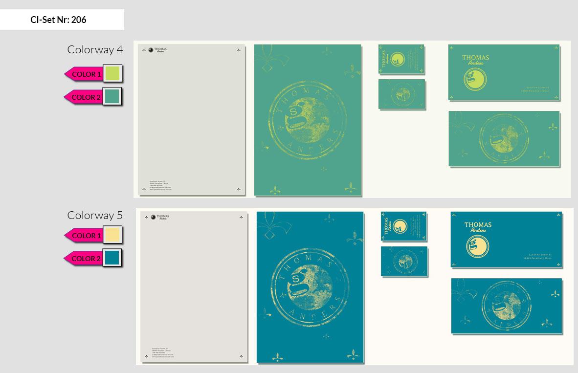 206 Stationery Corporate Design Geschaeftsausstattung Branding 5