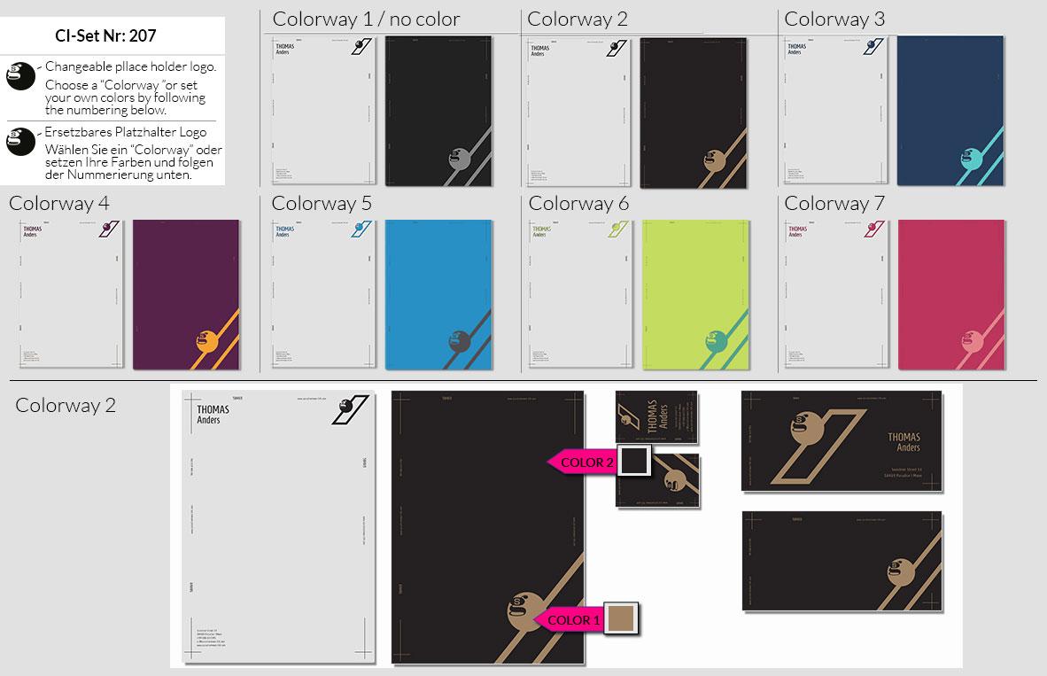 207 Stationery Corporate Design Geschaeftsausstattung Branding 3
