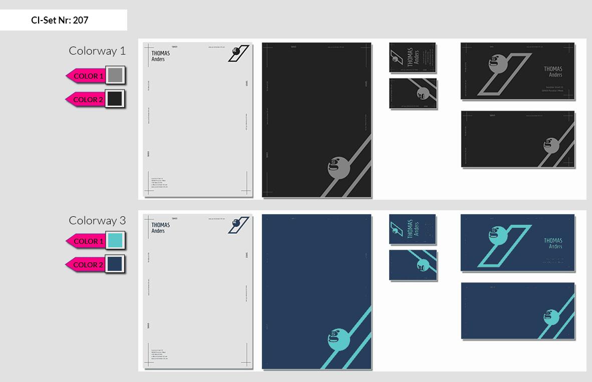 207 Stationery Corporate Design Geschaeftsausstattung Branding 4