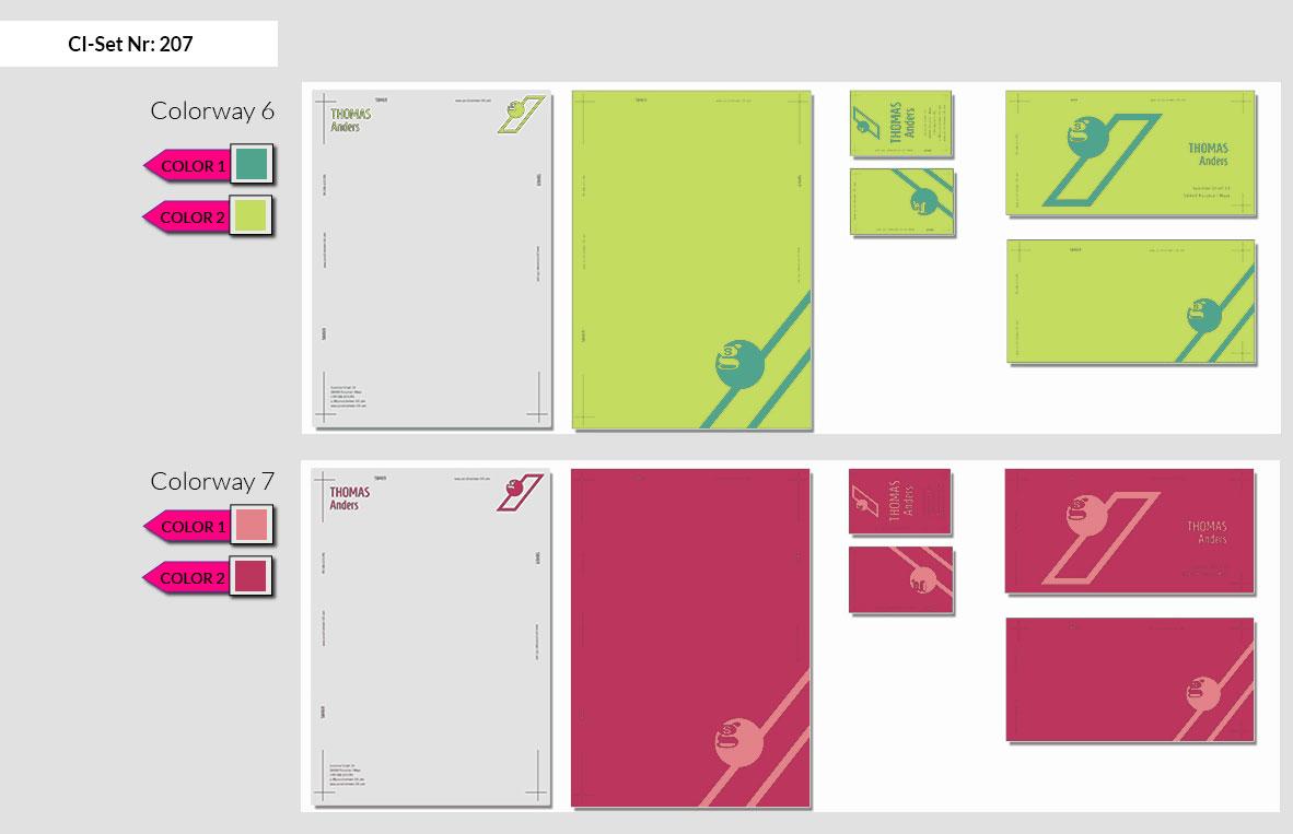 207 Stationery Corporate Design Geschaeftsausstattung Branding 6