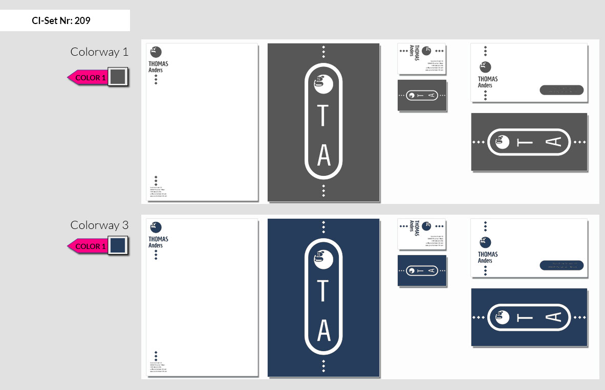209 Stationery Corporate Design Geschaeftsausstattung Branding 4