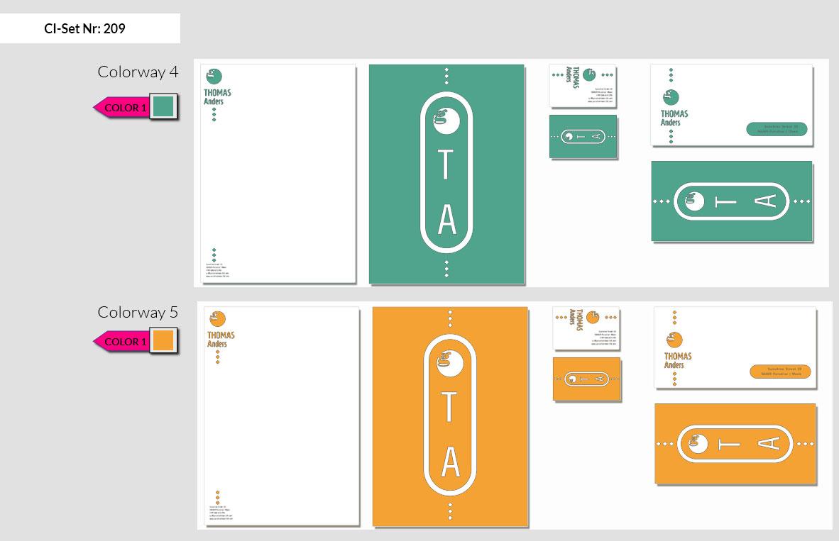 209 Stationery Corporate Design Geschaeftsausstattung Branding 5