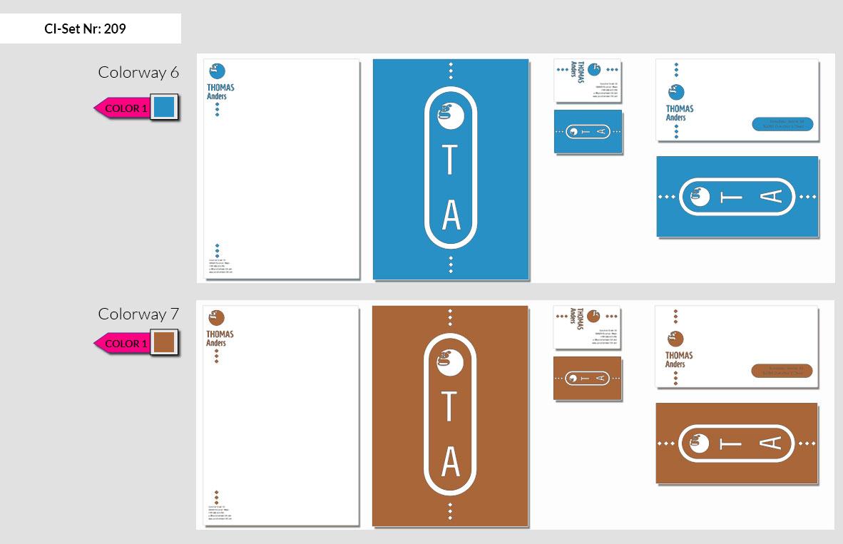 209 Stationery Corporate Design Geschaeftsausstattung Branding 6