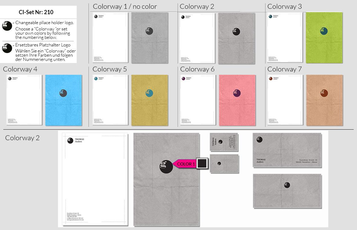 210 Stationery Corporate Design Geschaeftsausstattung Branding 3