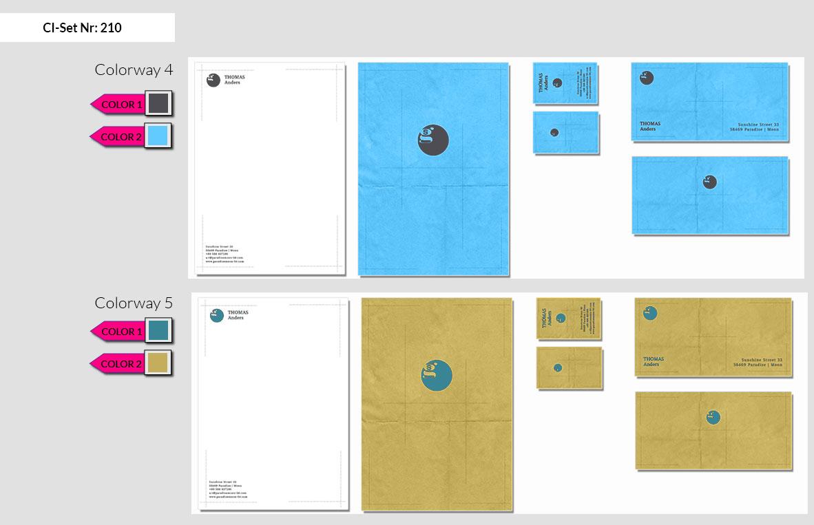 210 Stationery Corporate Design Geschaeftsausstattung Branding 5