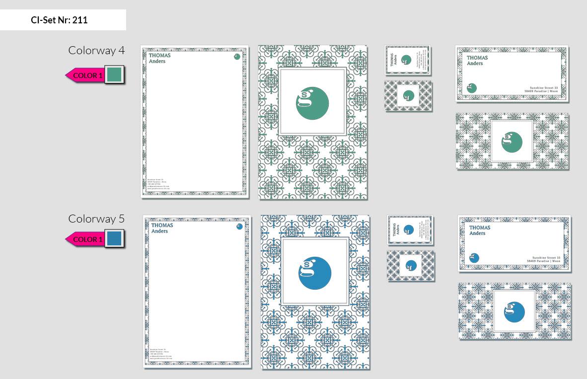211 Stationery Corporate Design Geschaeftsausstattung Branding 5