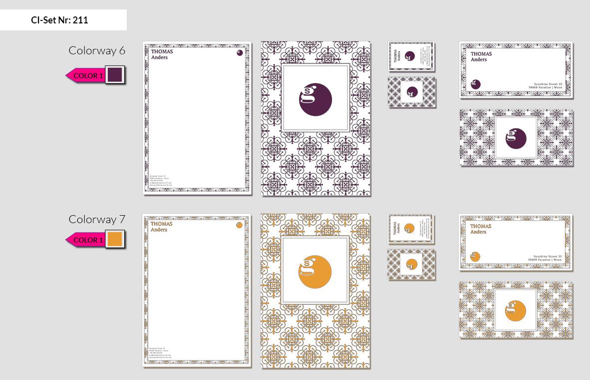 211 Stationery Corporate Design Geschaeftsausstattung Branding 6