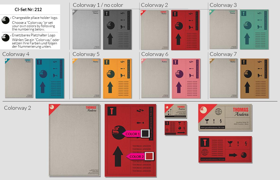 212 Stationery Corporate Design Geschaeftsausstattung Branding 3