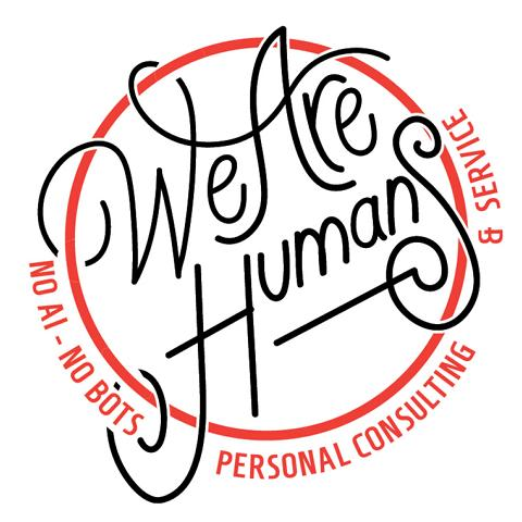 we are humans no ai no robots bots cigrow